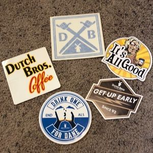 Dutch bros stickers